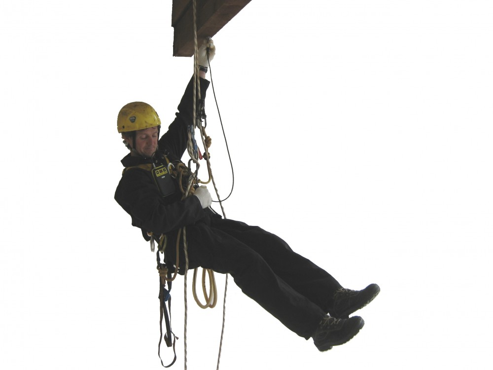 Rope Access Metal Thickness Tester
