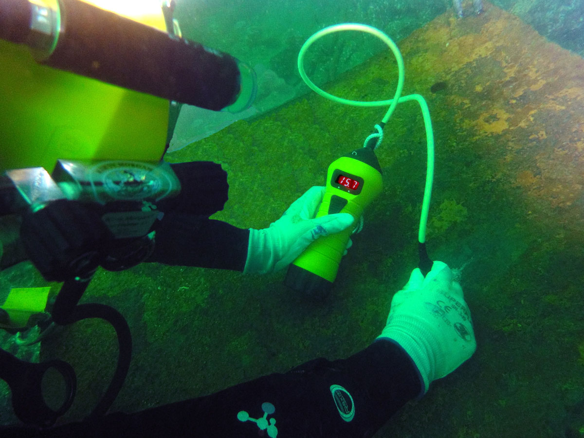 Underwater Ultrasonic Thickness Meter